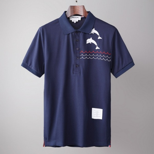 Thom Browne TB T-Shirts Short Sleeved For Men #845872