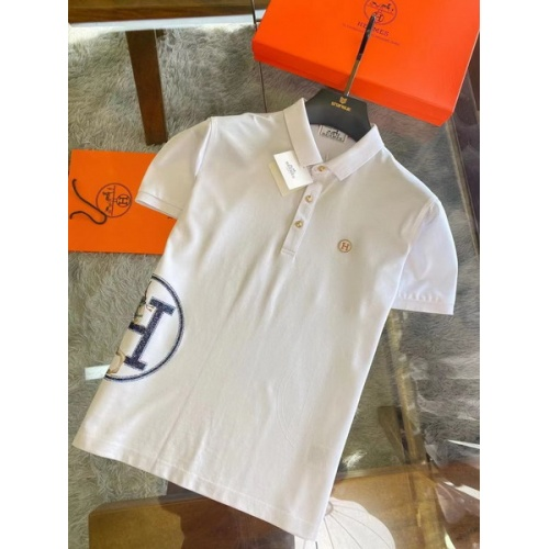 Hermes T-Shirts Short Sleeved For Men #845875