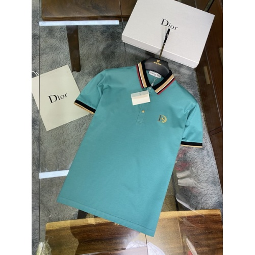 Christian Dior T-Shirts Short Sleeved For Men #845973