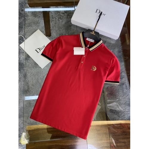 Christian Dior T-Shirts Short Sleeved For Men #845975