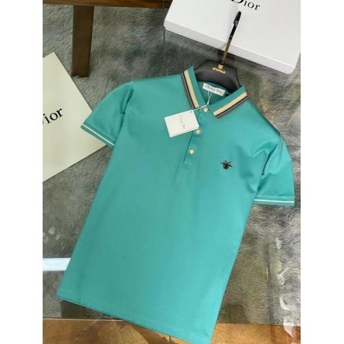 Christian Dior T-Shirts Short Sleeved For Men #845976