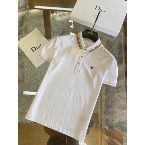 Christian Dior T-Shirts Short Sleeved For Men #845977