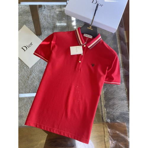 Christian Dior T-Shirts Short Sleeved For Men #845978