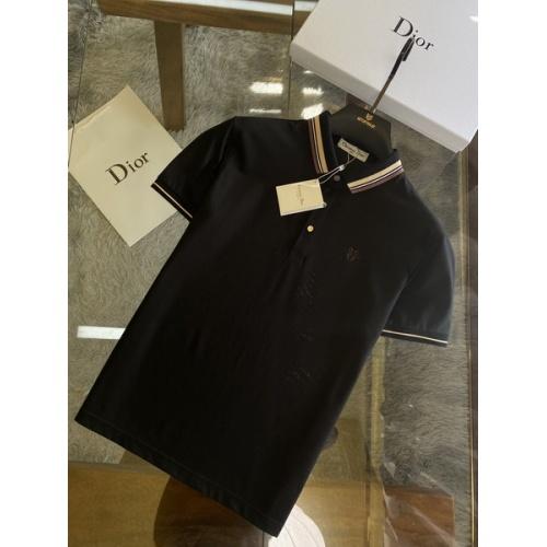 Christian Dior T-Shirts Short Sleeved For Men #845979