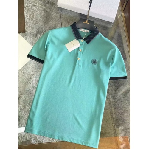 Christian Dior T-Shirts Short Sleeved For Men #845980