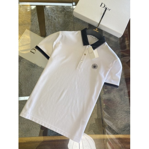 Christian Dior T-Shirts Short Sleeved For Men #845981