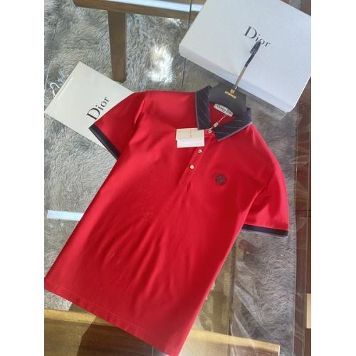 Christian Dior T-Shirts Short Sleeved For Men #845982 $48.00, Wholesale Replica Christian Dior T-Shirts