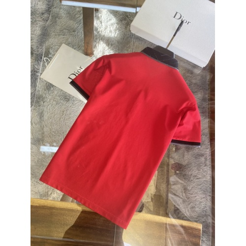 Replica Christian Dior T-Shirts Short Sleeved For Men #845982 $48.00 USD for Wholesale