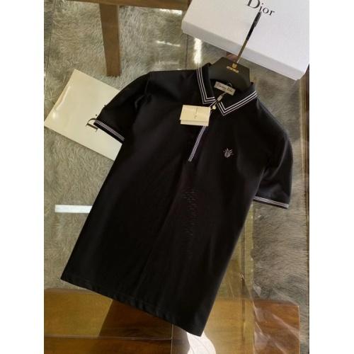 Christian Dior T-Shirts Short Sleeved For Men #845985