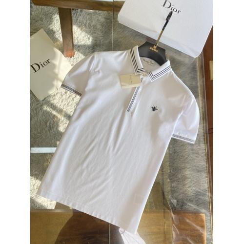 Christian Dior T-Shirts Short Sleeved For Men #845986