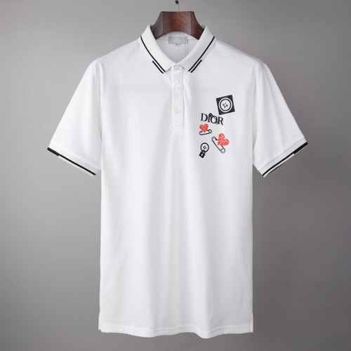 Christian Dior T-Shirts Short Sleeved For Men #845989