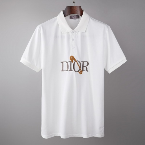 Christian Dior T-Shirts Short Sleeved For Men #845998
