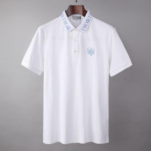 Christian Dior T-Shirts Short Sleeved For Men #846000