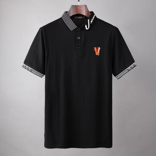 Versace T-Shirts Short Sleeved For Men #846003
