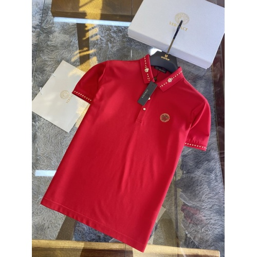 Versace T-Shirts Short Sleeved For Men #846004