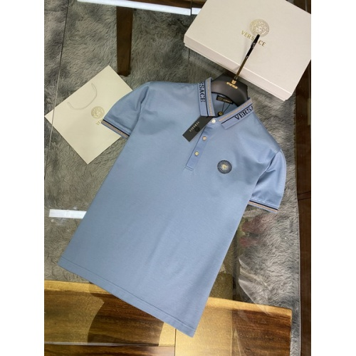 Versace T-Shirts Short Sleeved For Men #846012