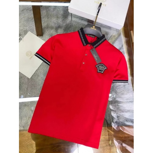 Versace T-Shirts Short Sleeved For Men #846024