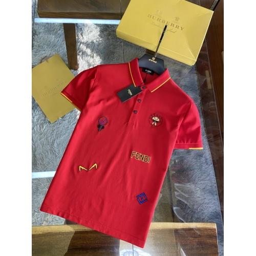 Fendi T-Shirts Short Sleeved For Men #846025