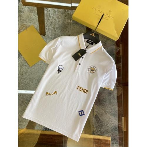 Fendi T-Shirts Short Sleeved For Men #846028
