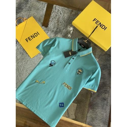 Fendi T-Shirts Short Sleeved For Men #846029