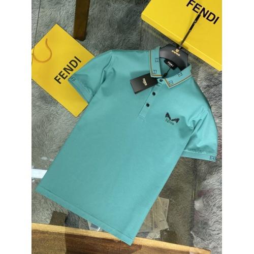 Fendi T-Shirts Short Sleeved For Men #846032