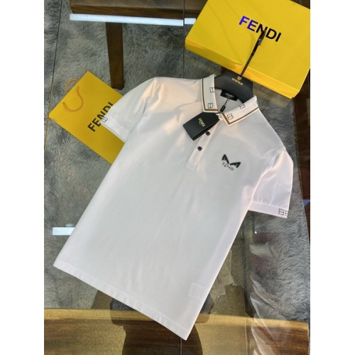 Fendi T-Shirts Short Sleeved For Men #846033