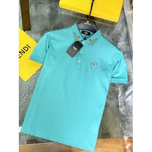 Fendi T-Shirts Short Sleeved For Men #846034