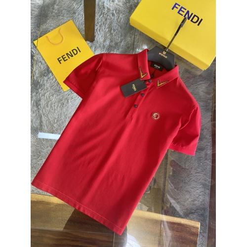Fendi T-Shirts Short Sleeved For Men #846036