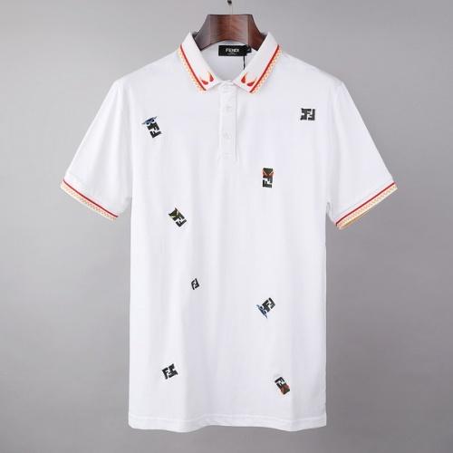 Fendi T-Shirts Short Sleeved For Men #846041