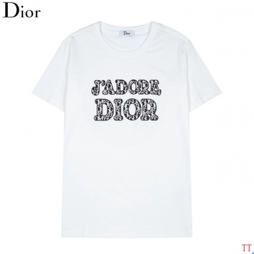 Christian Dior T-Shirts Short Sleeved For Men #846249