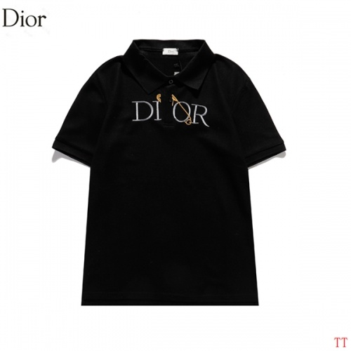 Christian Dior T-Shirts Short Sleeved For Men #846256