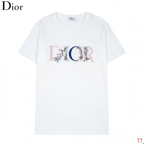 Christian Dior T-Shirts Short Sleeved For Men #846258