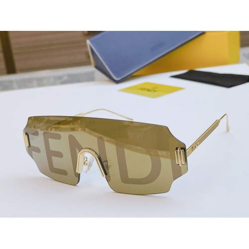 Fendi AAA Quality Sunglasses #846269