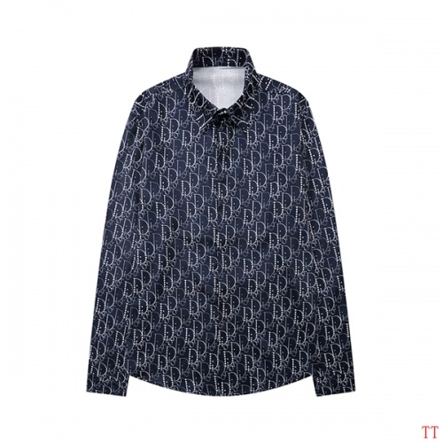 Christian Dior Shirts Long Sleeved For Men #846272