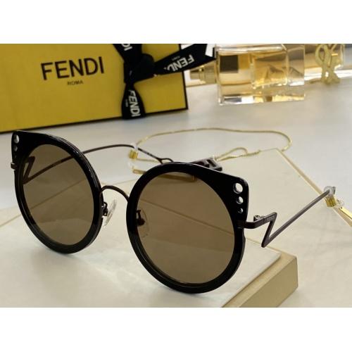 Fendi AAA Quality Sunglasses #846296