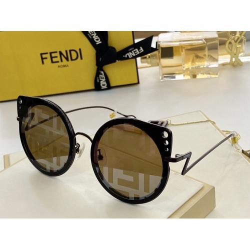 Fendi AAA Quality Sunglasses #846297