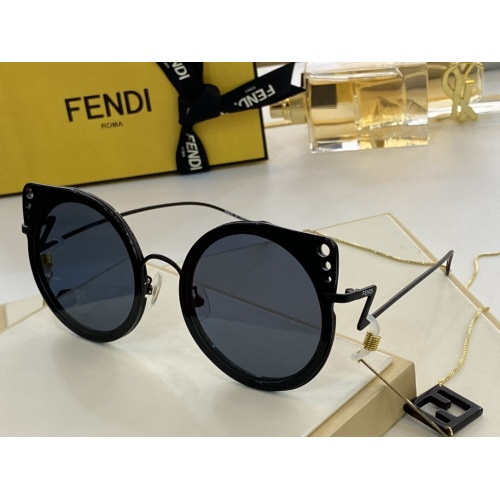 Fendi AAA Quality Sunglasses #846298