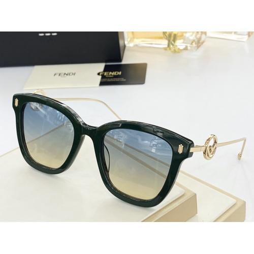 Fendi AAA Quality Sunglasses #846303