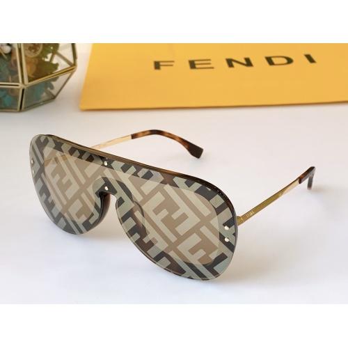 Fendi AAA Quality Sunglasses #846319