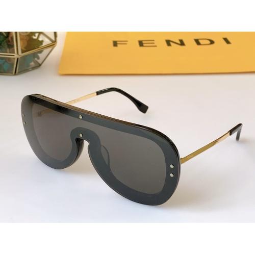 Fendi AAA Quality Sunglasses #846323