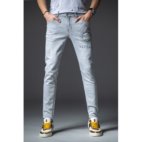 Versace Jeans For Men #846496 $48.00 USD, Wholesale Replica Versace Jeans