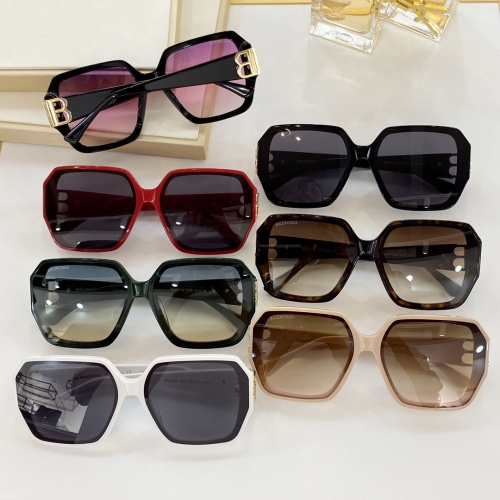Replica Balenciaga AAA Quality Sunglasses #846596 $60.00 USD for Wholesale
