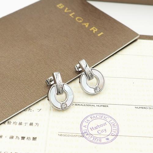 Bvlgari Earrings For Women #846625 $26.00 USD, Wholesale Replica Bvlgari Earrings