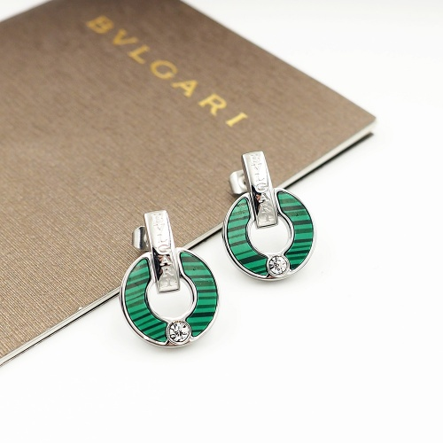 Bvlgari Earrings For Women #846629 $26.00, Wholesale Replica Bvlgari Earrings