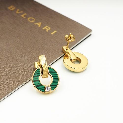 Bvlgari Earrings For Women #846630 $26.00 USD, Wholesale Replica Bvlgari Earrings