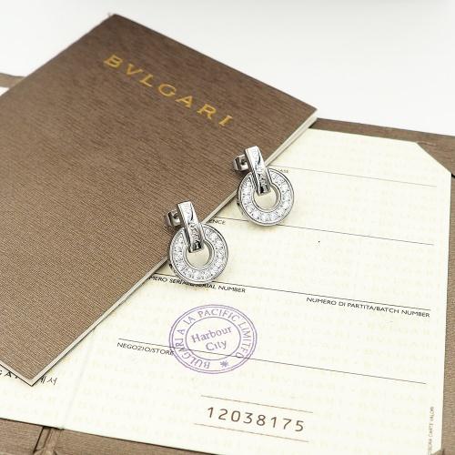 Bvlgari Earrings For Women #846634 $30.00, Wholesale Replica Bvlgari Earrings