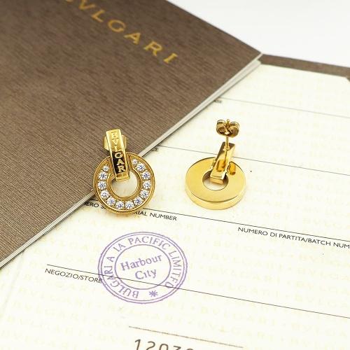 Bvlgari Earrings For Women #846637 $30.00, Wholesale Replica Bvlgari Earrings