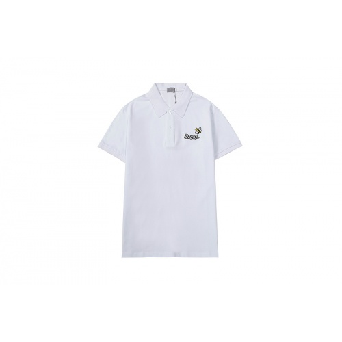 Christian Dior T-Shirts Short Sleeved For Men #846709