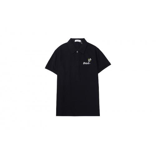 Christian Dior T-Shirts Short Sleeved For Men #846710