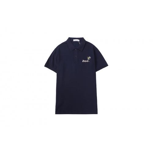 Christian Dior T-Shirts Short Sleeved For Men #846711